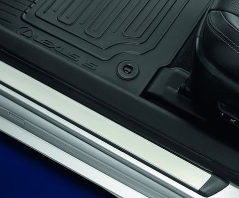 EU LEXUS 2017 IS 250/350/300h/200t ラバーフロアーマット (RHD)