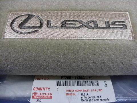 US LEXUS 2008-2015 LX570 トランクマット
