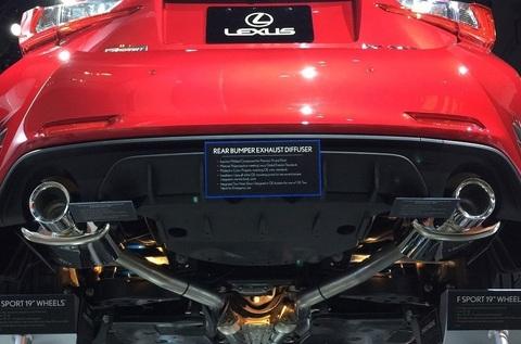 F-Sport デュアルエキゾーストシステム