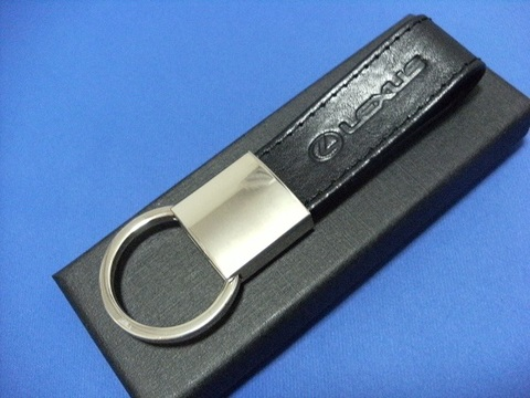 Lexus Premium Leather Loop Keyring