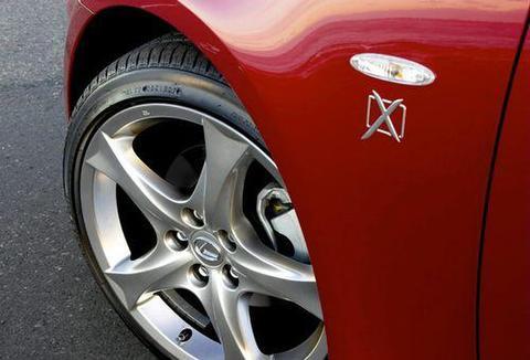 AU LEXUS X-Edition フェンダーバッジ SET