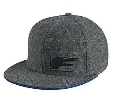 Lexus F-Sport Flat Bill Gray Hat Baseball Cap