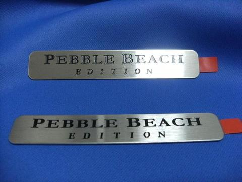 2008 Lexus Pebble Beach Edition バッジ 2枚SET