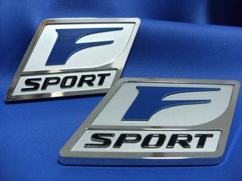 2010 F-Sport フェンダーバッジSET