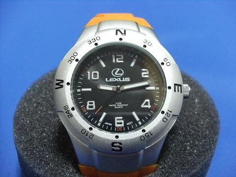 Lexus Orange Sport Watch