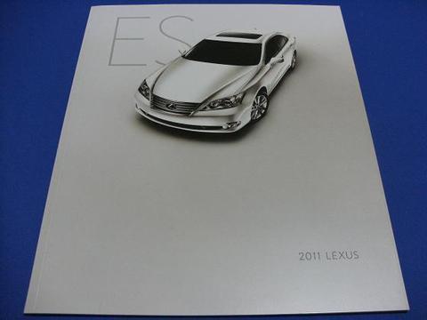 LEXUS 2011 ES350 セールスカタログ