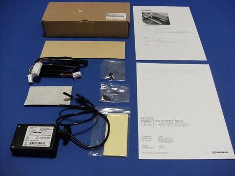 EU LEXUS RX330/350 iPod インテグレーションキット