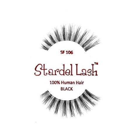 【50%OFF】【Stardel Lash】人毛 つけまつ毛 100% Human Hair SF106(US3118)