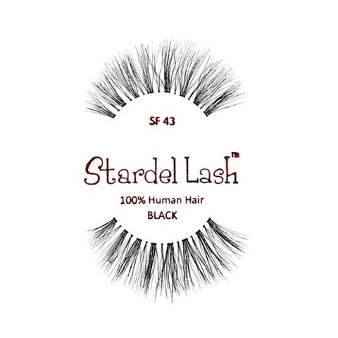 【Stardel Lash】人毛 つけまつ毛 100% Human Hair SF43(US3112)