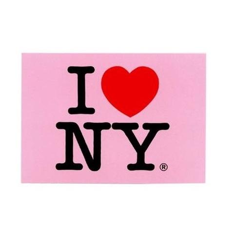 【USA】I LOVE NY アイラブニューヨーク NYポストカード 小(US993)