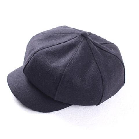 シンプル キャスケット帽子 ウール素材(K3464)