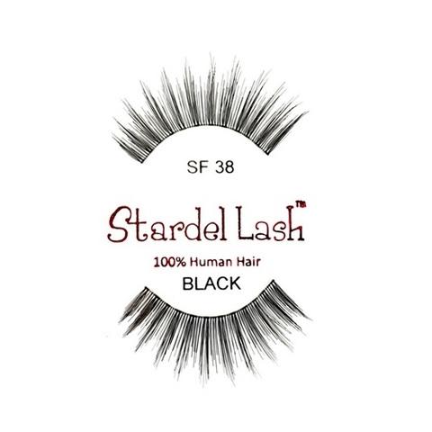 【50%OFF】【Stardel Lash】人毛 つけまつ毛 100% Human Hair SF38(US3111)