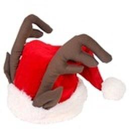 クリスマス トナカイ サンタ帽子(C2404)