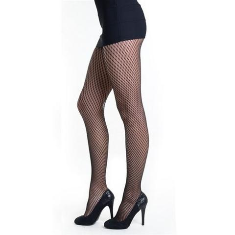 【Killer Legs】スモールダイアゴナルチェック柄ネット あみタイツ パンティーストッキング 828DY811(US3131)