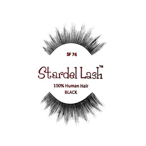 【50%OFF】【Stardel Lash】人毛 つけまつ毛 100% Human Hair SF74(US3114)