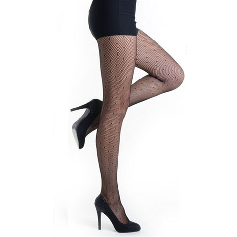 【Killer Legs】ドット柄ネット あみタイツ パンティーストッキング 828DY712(US3126)