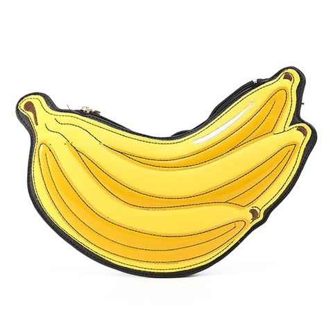 バナナのポーチ 2Way クラッチ&ショルダーバッグ(C3314)