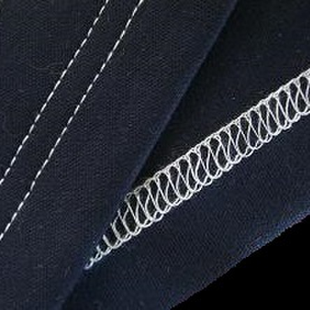 【お直し】ストレッチパンツ裾上げ カバーステッチ仕上げ 裾直し(F2463)