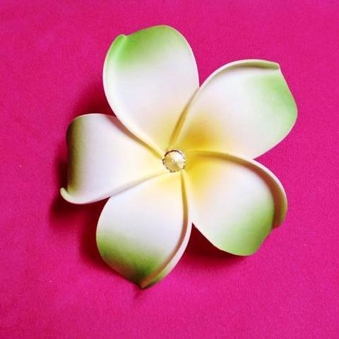 【50%OFF】【USA】ハワイアン 特大花のコサージュ(US2202)