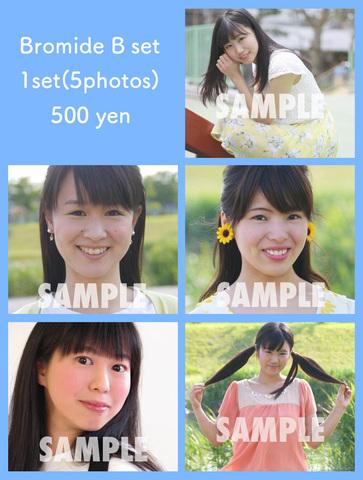 【ブロマイド】《1セット5枚入り/全3種/1セット500円》Bセット