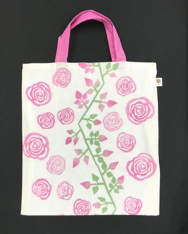 岸和田てぬぐい エコバッグ 薔薇