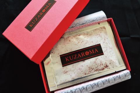 香りも食感も楽しむ、葛湯×アロマ【KUZAROMA】2箱セット(ローズ&マルベリー)