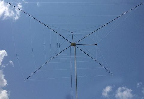 MFJ-1838 世界初の量産化 Cobweb 夢の8バンダー コブウエブアンテナu