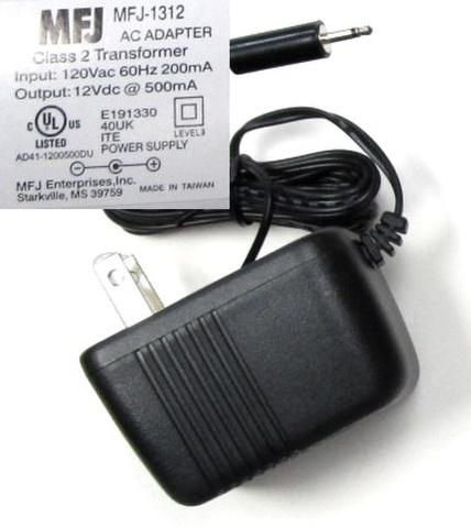 MFJ-1312D 12V電源 MFJアナライザー、チューナーに