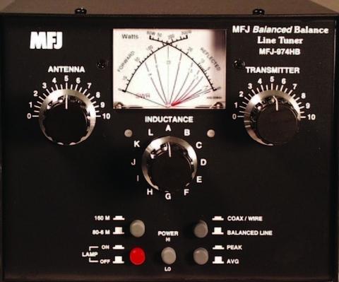 MFJ-974HB 珍しいバランスチューナー1.8-50MHzまで レビュー特価