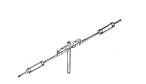 モズレー MINI-31A 省スペース用ダイポール