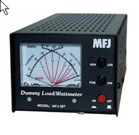 MFJ-267 最大1.5kW空冷式ダミーロード(クロスニードルSWR/PWR計付き)u