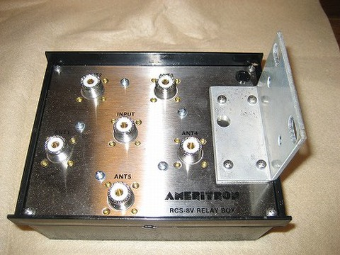 5回路アンテナ切替器 RCS-8VL 避雷装置付u