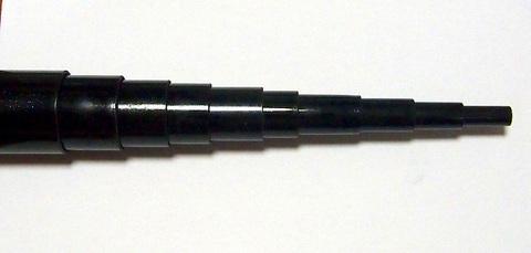 RG-10 ローコストの10mグラスファイバー竿