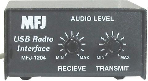 MFJ-1204 コンパクトな新しいPCインターフェス シンプルイズベスト