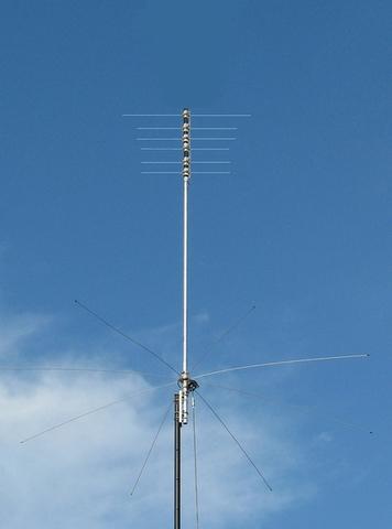 MFJ-1797LP 1本で7-28MHz ノンラジアルバーチカル