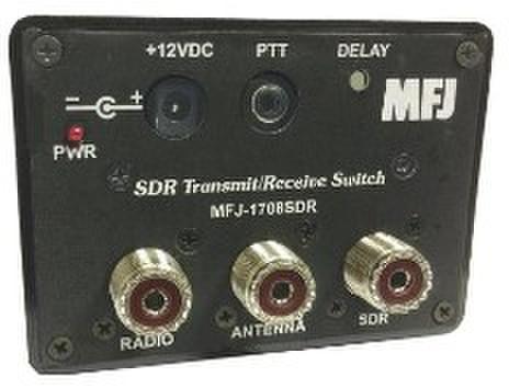 MFJ-1708SDR 送受でANT切替ボックス HF帯