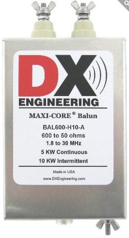 最高耐圧12:1 バラン 600Ω:50Ω変換用 ABDX-1210