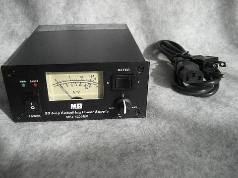 """""""世界最小30A電源"""" MFJ-4230MV 30AMAX AC-DC 電源 超特価"""