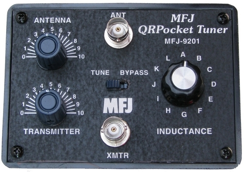 ★MFJ-9201 QRP用超コンパクトチューナー