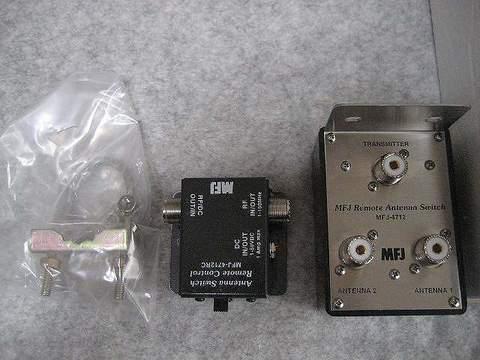 超小型!2回路のリモートアンテナ切替器 MFJ-4712