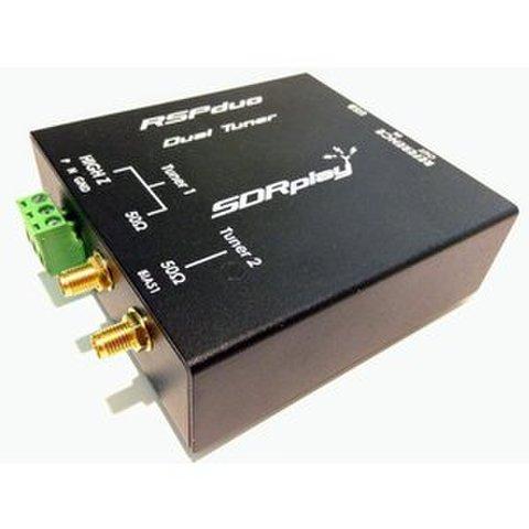 2本のアンテナでダイバシティ受信SDRに!RSPduo(デュオ) SDR Play社