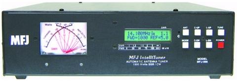MFJ-998 1500W対応オートアンテナチューナー