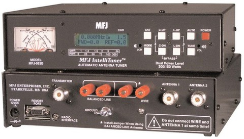 MFJ-993B MFJアンテナチューナー300W