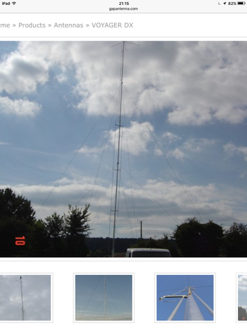 VOYAGER DX ボイジャーDX GAP antenna