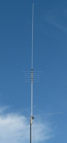 MFJ-1797 1本で7-28MHz ノンラジアルバーチカル u