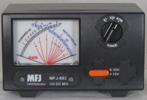MFJ-88X クロスニードル新LED SWR計3種類