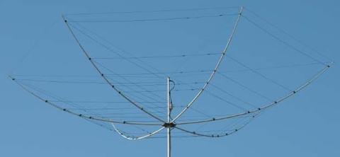 新登場。ウルトラライト級ヘックスビームアンテナ 最新の移動用HEXBEAM