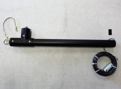 短縮スローパーアンテナ160m用SLP-160、80m用SLP-80