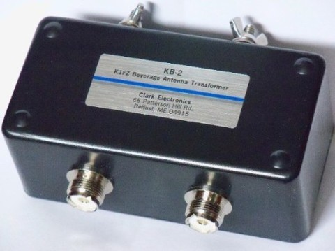 KB-2 BOGアンテナ K1FZ 2線式WOG/BOGアンテナ用トランスフォーマー