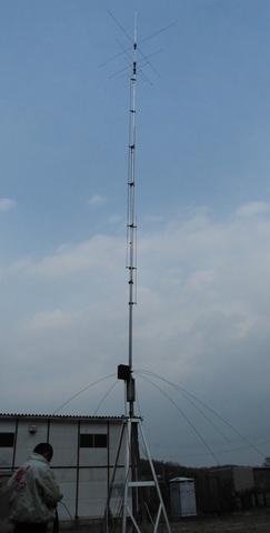 AV-640 ハイゲインのノンラジアルバーチカル  40-6m